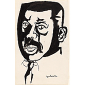 view Jacob Lawrence Self-Portrait digital asset number 1