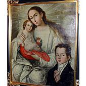 view Virgen de la Merced con devoto digital asset number 1