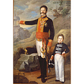 view Brigadier General Carlos Favré d'Aunoy and Son digital asset number 1