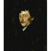 view Pablo de Sarasate: Portrait of a Violinist digital asset number 1