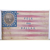 view Polk and Dallas Flag digital asset number 1