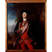 view George Washington in the Uniform of a British Colonial Colonel digital asset number 1