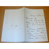 view Letter from Charles Sumner to Mrs. Story digital asset number 1
