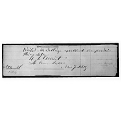 view Ulysses S. Grant's autograph digital asset number 1