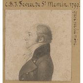 view Charles de Saint-Mémin Self-Portrait digital asset number 1
