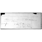 view George Meade's autograph digital asset number 1