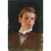 view Charles Sydney Hopkinson Self-Portrait digital asset number 1