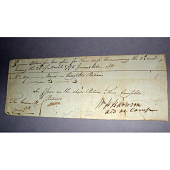 view William Henry Harrison's autograph digital asset number 1