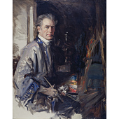 view Howard Chandler Christy Self-Portrait digital asset number 1