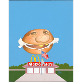 view McDonald's Hamburger digital asset number 1