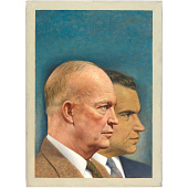 view Richard Nixon and Dwight D. Eisenhower digital asset number 1