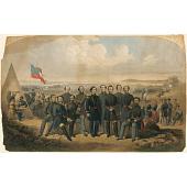 view Jefferson Davis and Generals digital asset number 1