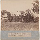 view President Lincoln and Gen. McClellan on Battle-Field of Antietam digital asset number 1