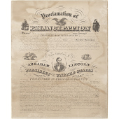 view Emancipation Proclamation digital asset number 1
