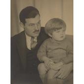 view Ernest Hemingway and Son digital asset number 1