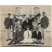 view William Howard Taft, Alice Roosevelt Longworth and Nicholas Longworth digital asset number 1