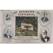 view Remington centennial postcard digital asset number 1
