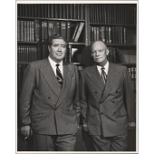 view Dwight D. Eisenhower and John Gunther digital asset number 1