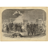 view Grand Reception at the White House, January, 1862 digital asset number 1