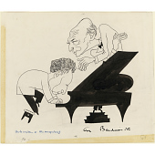 view Arthur Rubinstein and Dimitri Mitropoulos digital asset number 1