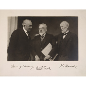 view Warren G. Harding, Robert Todd Lincoln and Joseph Gurney Cannon digital asset number 1
