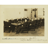 view Franklin Roosevelt and Cabinet digital asset number 1