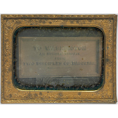 view Washington Monument Stone Commissioned by Meade Brothers digital asset number 1