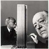 view Ludwig Mies van der Rohe and Philip Cortelyou Johnson digital asset number 1