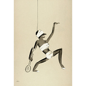 view Le Tumulte Noir/Tennis Player digital asset number 1