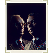 view Richard Cheney and Colin Powell digital asset number 1