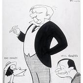 """view W.C. Fields, Rachel Dooley and Will Rogers -- """"Ziegfield Follies"""" digital asset number 1"""