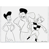 """view Ruby Hill, Pearl Bailey and Harold Nicholas -- """"St. Louis Woman"""" digital asset number 1"""