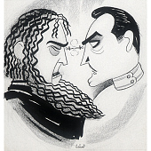 """view John and Lionel Barrymore in """"Rasputin and the Empress"""" digital asset number 1"""