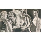 """view Joan Crawford, Guy Kibbe, Walter Huston and Beulah Bondi in """"Rain"""" digital asset number 1"""