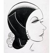 "view Greta Garbo in ""The Kiss"" digital asset number 1"