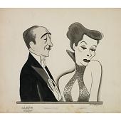 "view Katharine Hepburn and Adolphe Menjou in ""Morning Glory"" digital asset number 1"