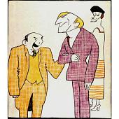 view Leon Errol and Raymond Hitchcock digital asset number 1