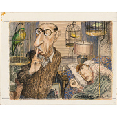view Igor Stravinsky and W. H. Auden digital asset number 1