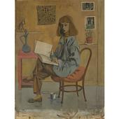 view Elaine de Kooning Self-Portrait digital asset number 1
