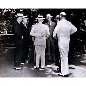 view Harry S Truman, Dean Acheson and Louis Johnson digital asset number 1
