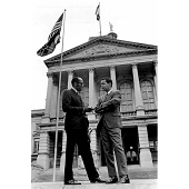 view Julian Bond (with Leroy Johnson) digital asset number 1