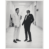 view Reverend Adam Clayton Powell, Jr. and Stokely Carmichael digital asset number 1