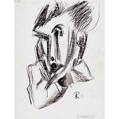 view Hans Richter Self-Portrait digital asset number 1