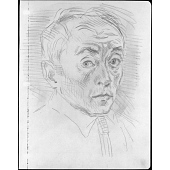 view Moses Soyer Self-Portrait digital asset number 1