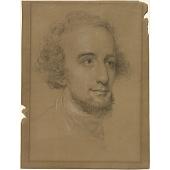 view Titian Ramsay Peale II Self-Portrait digital asset number 1