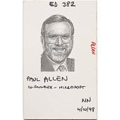 view Paul Allen digital asset number 1