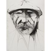 view Leonard Baskin Self-Portrait digital asset number 1
