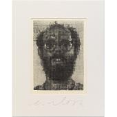 view Chuck Close Self-Portrait digital asset number 1