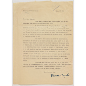 view Letter from Isamu Noguchi to Ginger Rogers digital asset number 1