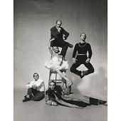 view George Balanchine, Jerome Robbins, Antony Tudor, Ruthanna Boris, and Todd Bolender digital asset number 1